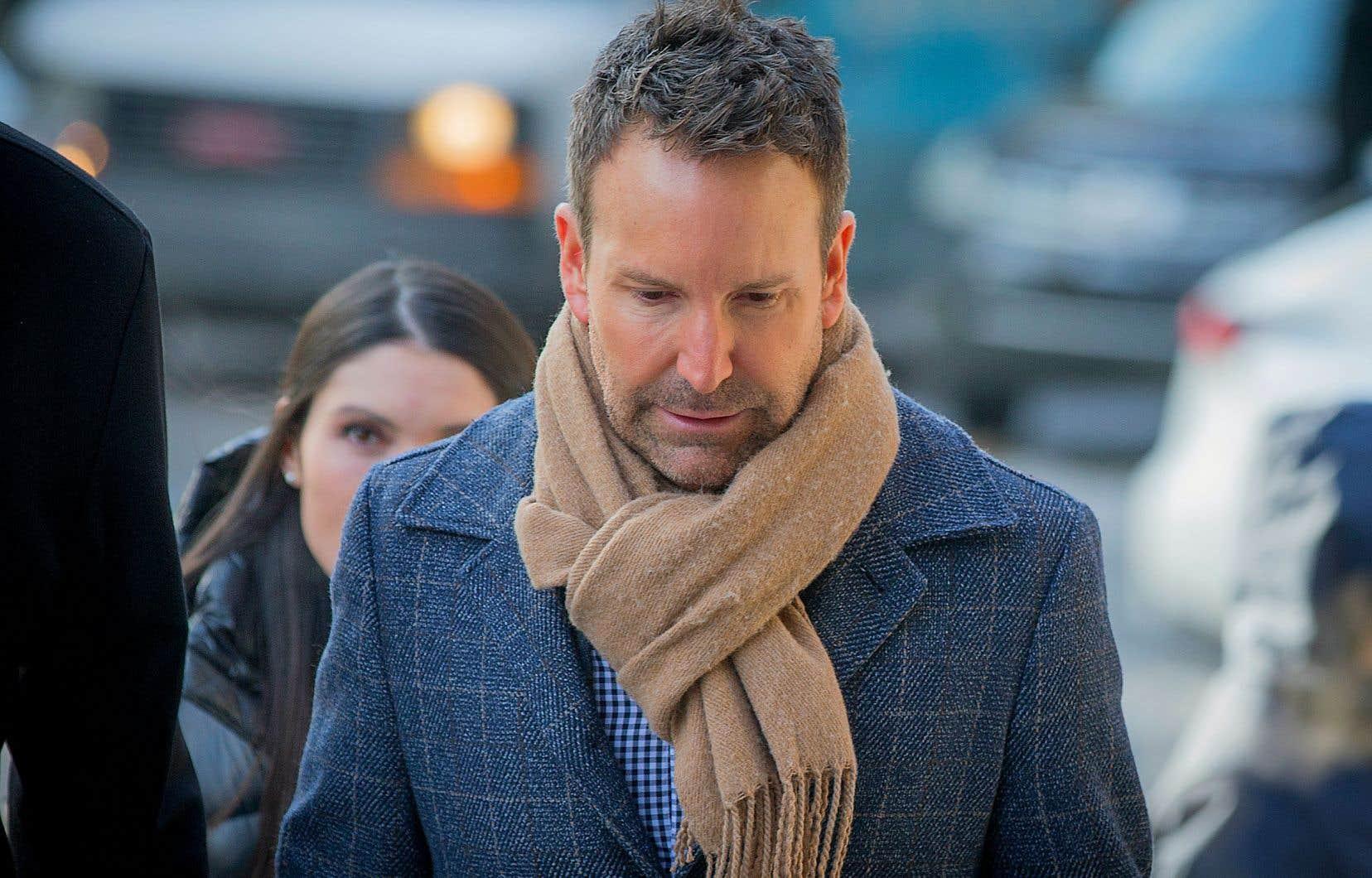 Éric Salvail a terminé jeudi de témoigner à son procès pour agression sexuelle, séquestration et harcèlement criminel.