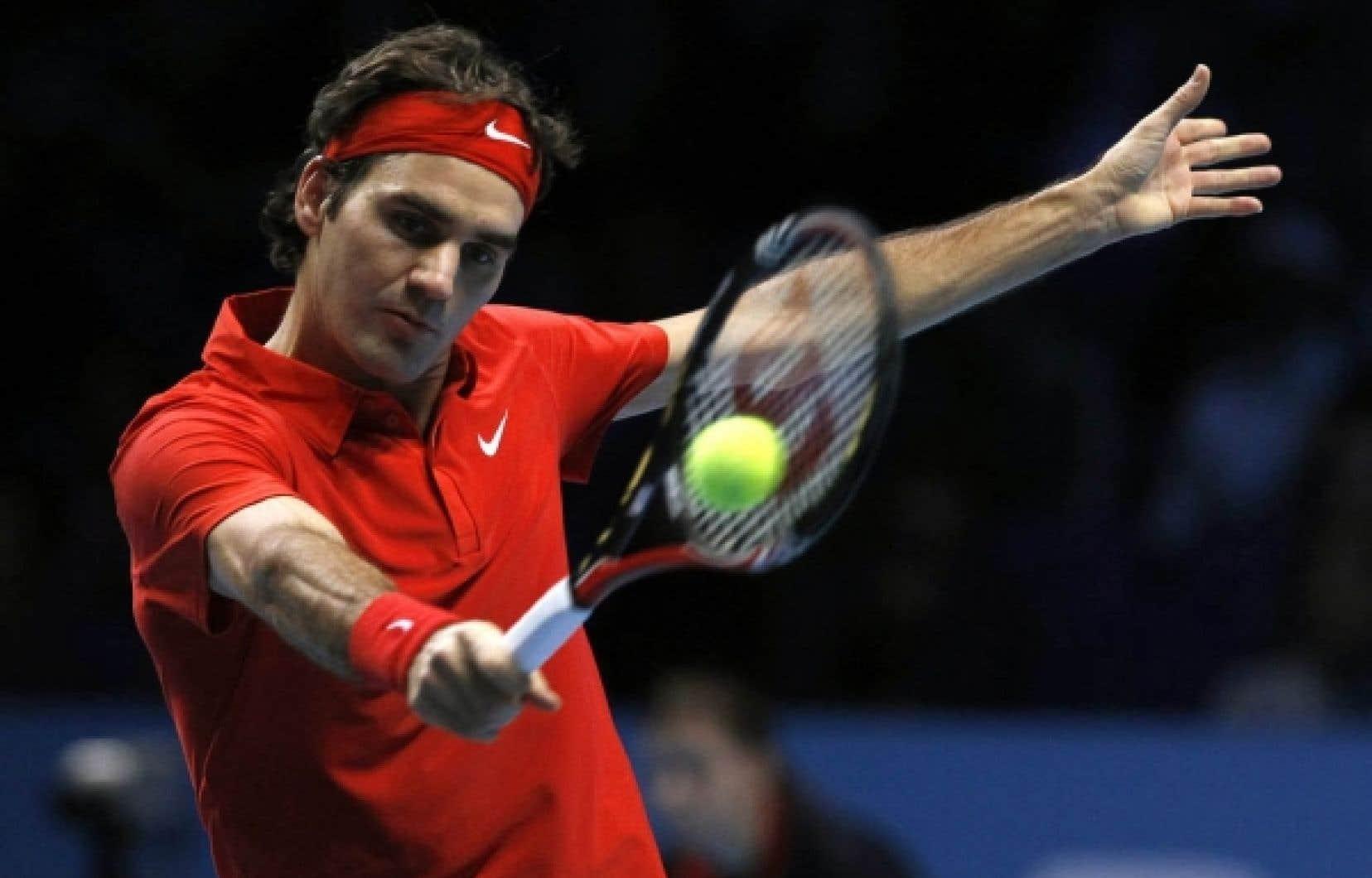 Roger Federer a défait le Suédois Robin Soderling.<br />