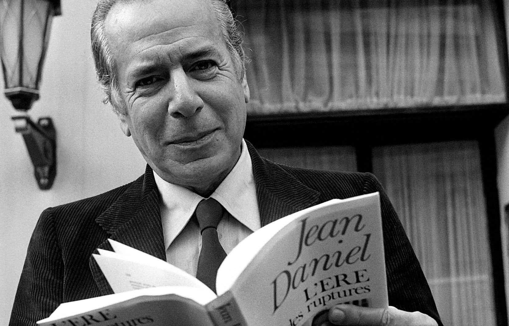 Journaliste, écrivain et essayiste, Jean Daniel a signé une trentaine de livres.
