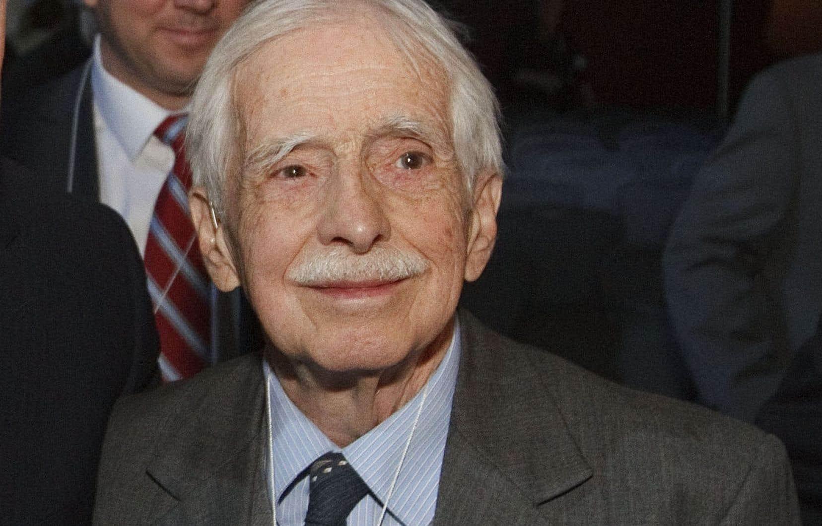 Le géographe et historien Louis Edmond Hamelin en mai 2011