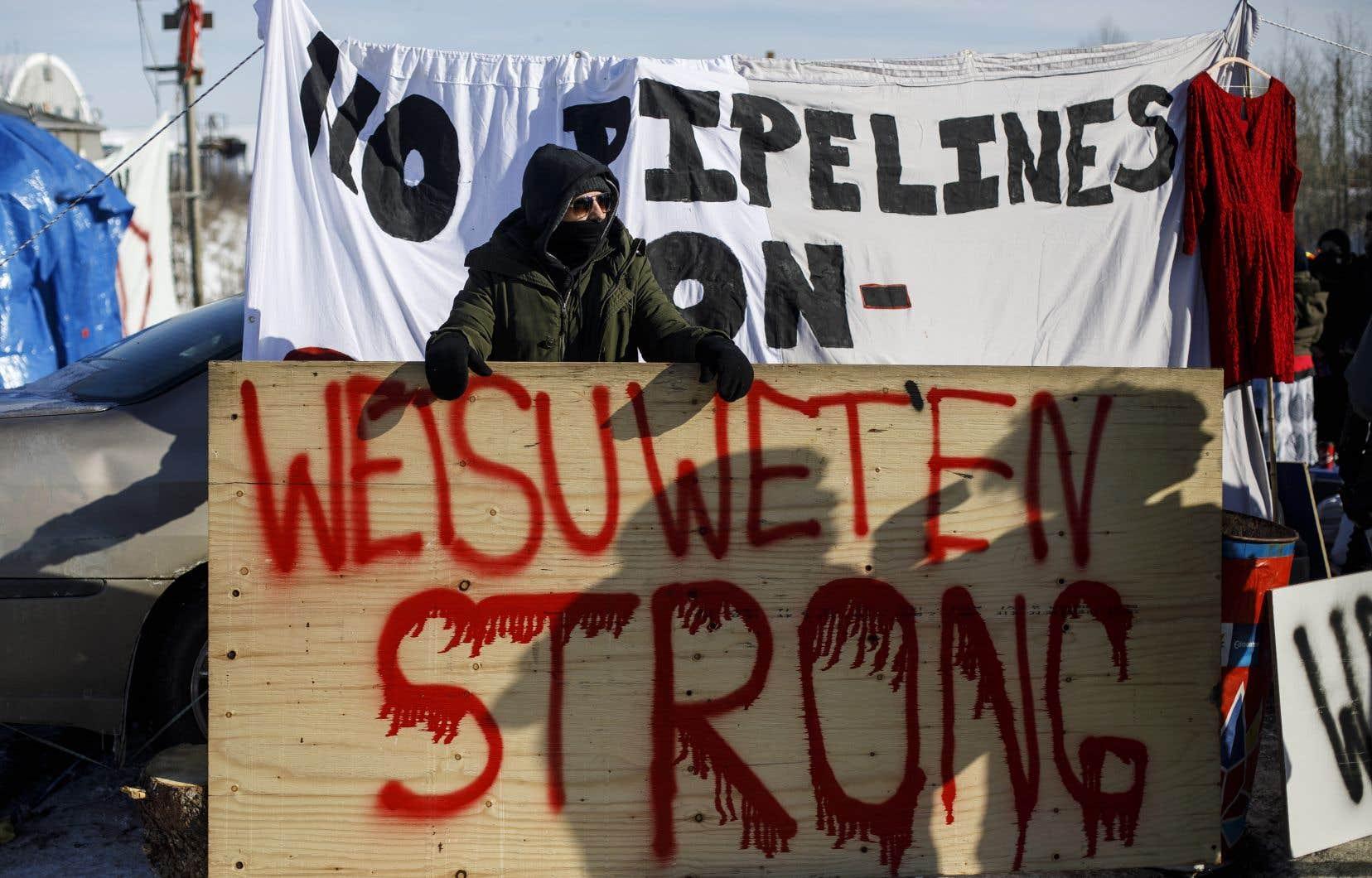 Les Wet'suwet'sen sont divisés autour du projet de gazoduc. Il revient à cette nation de régler ses différends internes.