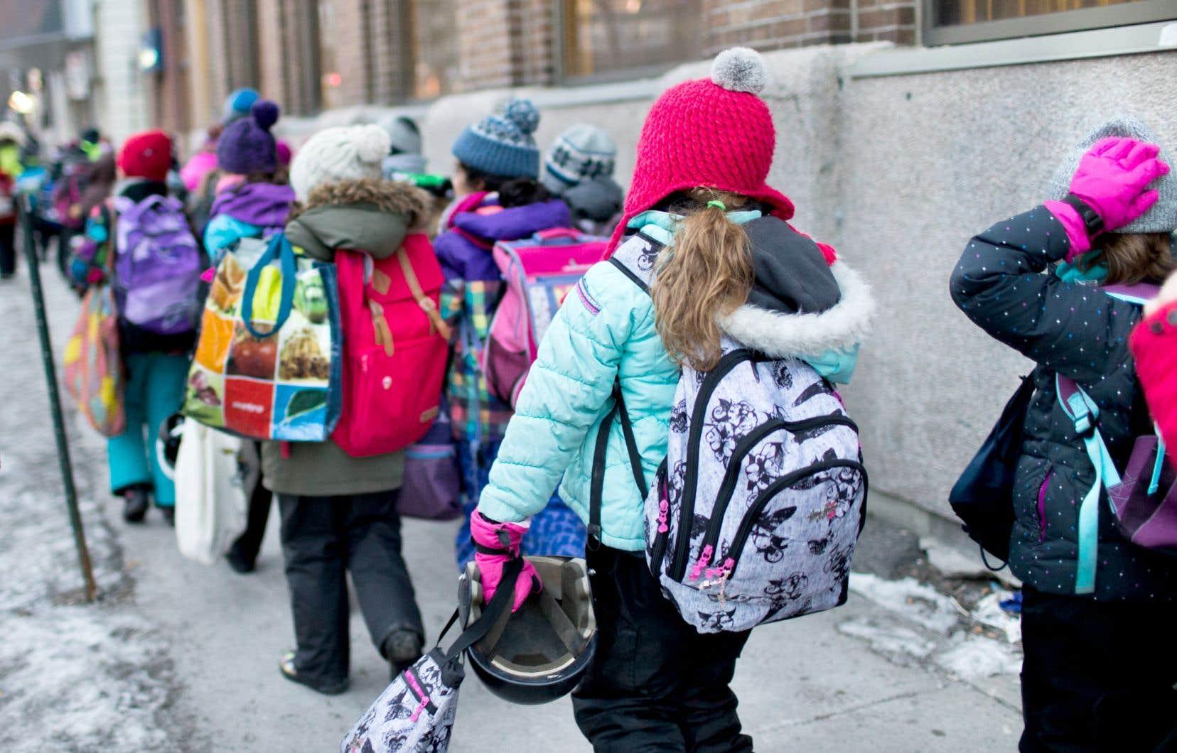 Le Conseil supérieur de l'éducation a déclaré dans un rapport, en 2016, que l'école québécoise est la plus inégalitaire au pays.