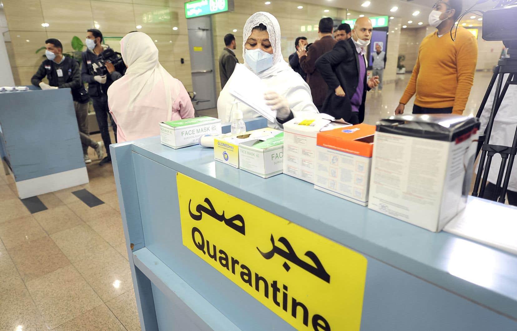 <p>Jusqu'à présent, l'Égypte est le seul pays d'Afrique a avoir enregistré un cas confirmé de contamination.</p>