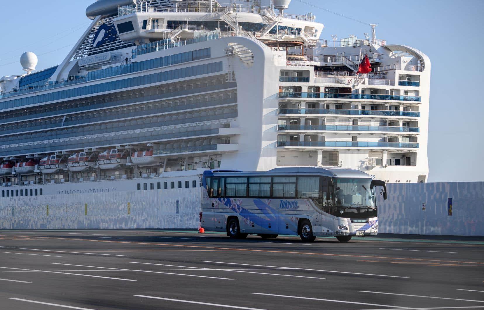 Le bateau de croisière «Diamond Princess» est devenu le plus grand foyer de contamination au nouveau coronavirus à l'extérieur de la Chine.