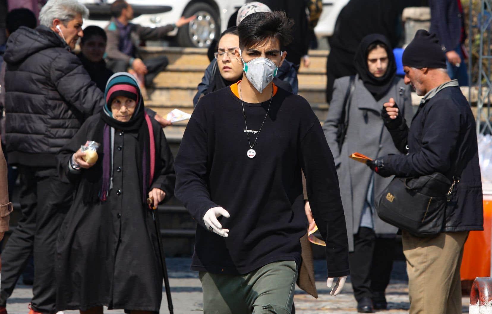 Cinq personnes sont mortes d'une infection du COVID-19 en Iran.