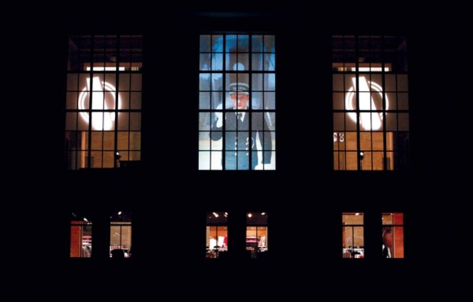 Le projet Le Tableau des départs de Daniel Canty loge dans l'ancienne gare Jean-Talon.<br />