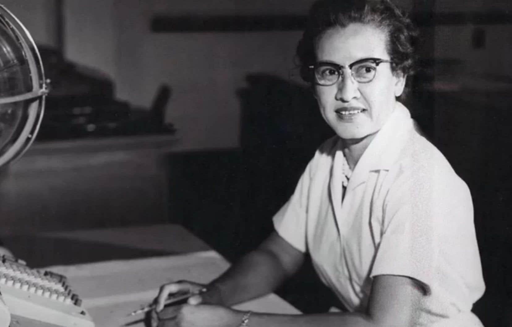 Katherine Johnsona notamment calculé les trajectoires d'Apollo 11, la mission historique qui a fait de Neil Armstrong le premier homme à marcher sur la Lune en 1969.