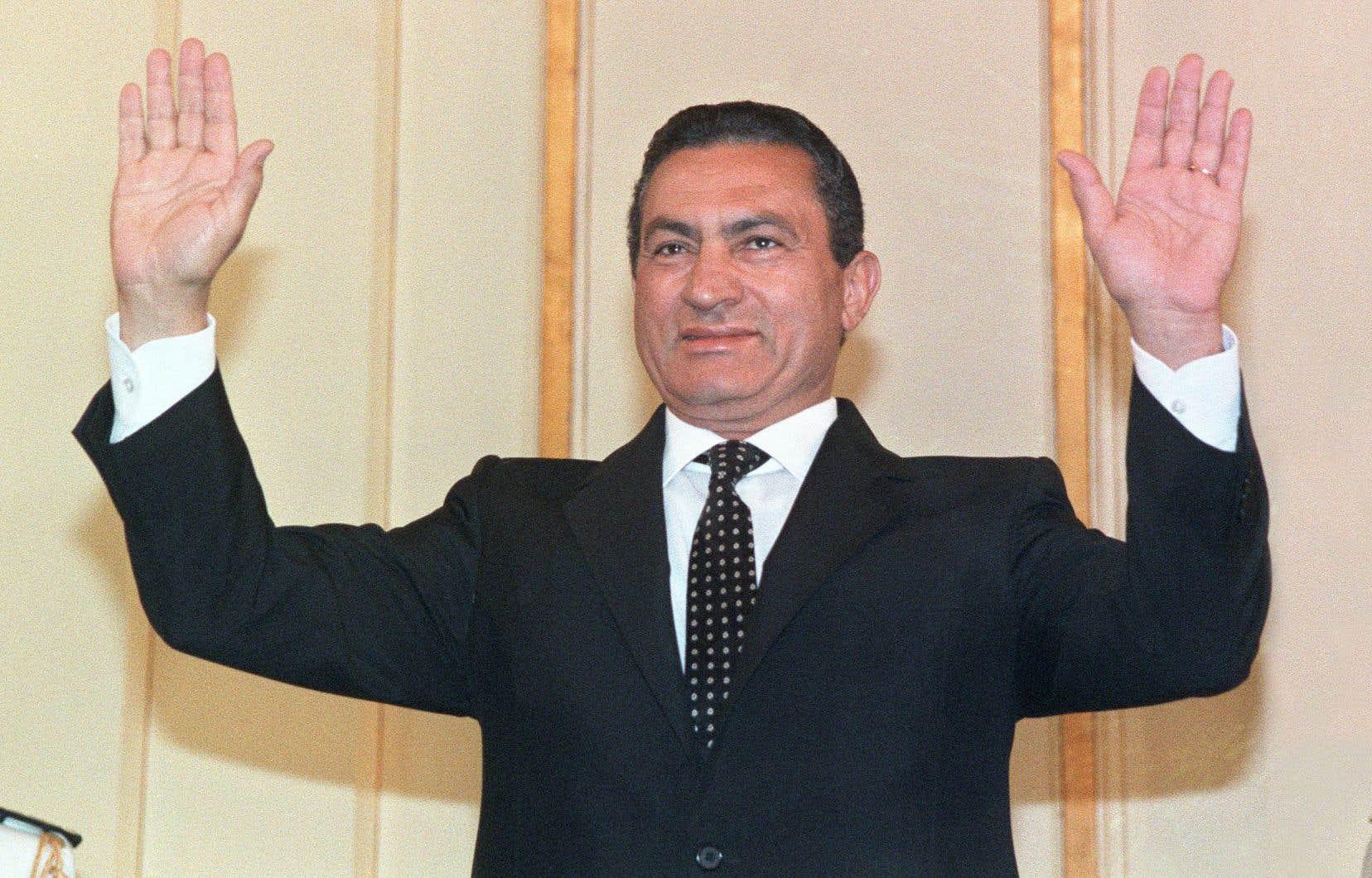 L'ancien président de l'Égypte, Hosni Moubarak, a été balayé en 2011 par le Printemps arabe.