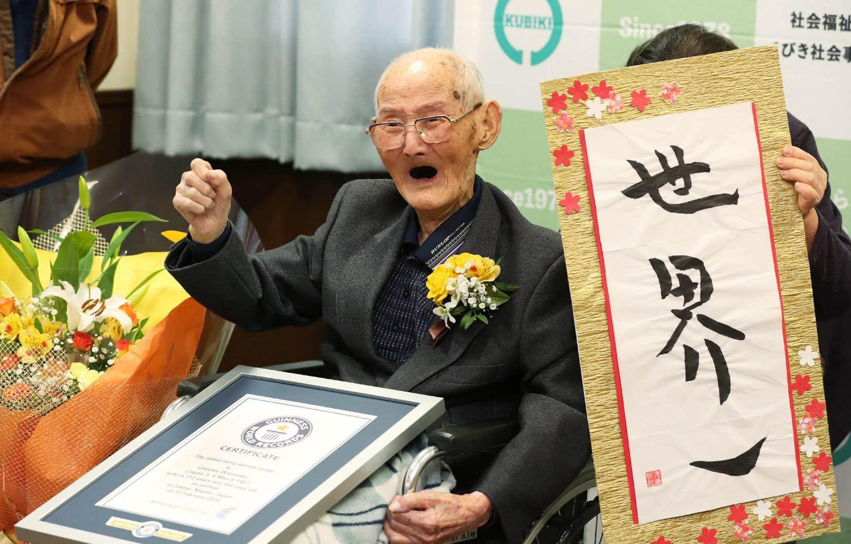 <p>Chitetsu Watanabe, né le 5mars 1907 à Niigata, au Nord de Tokyo, s'est éteint dimanche dans sa maison de retraite située dans la même région.</p>