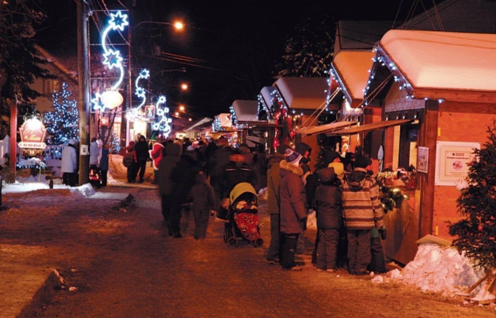 Le marché de Noël de Baie-Saint-Paul<br />