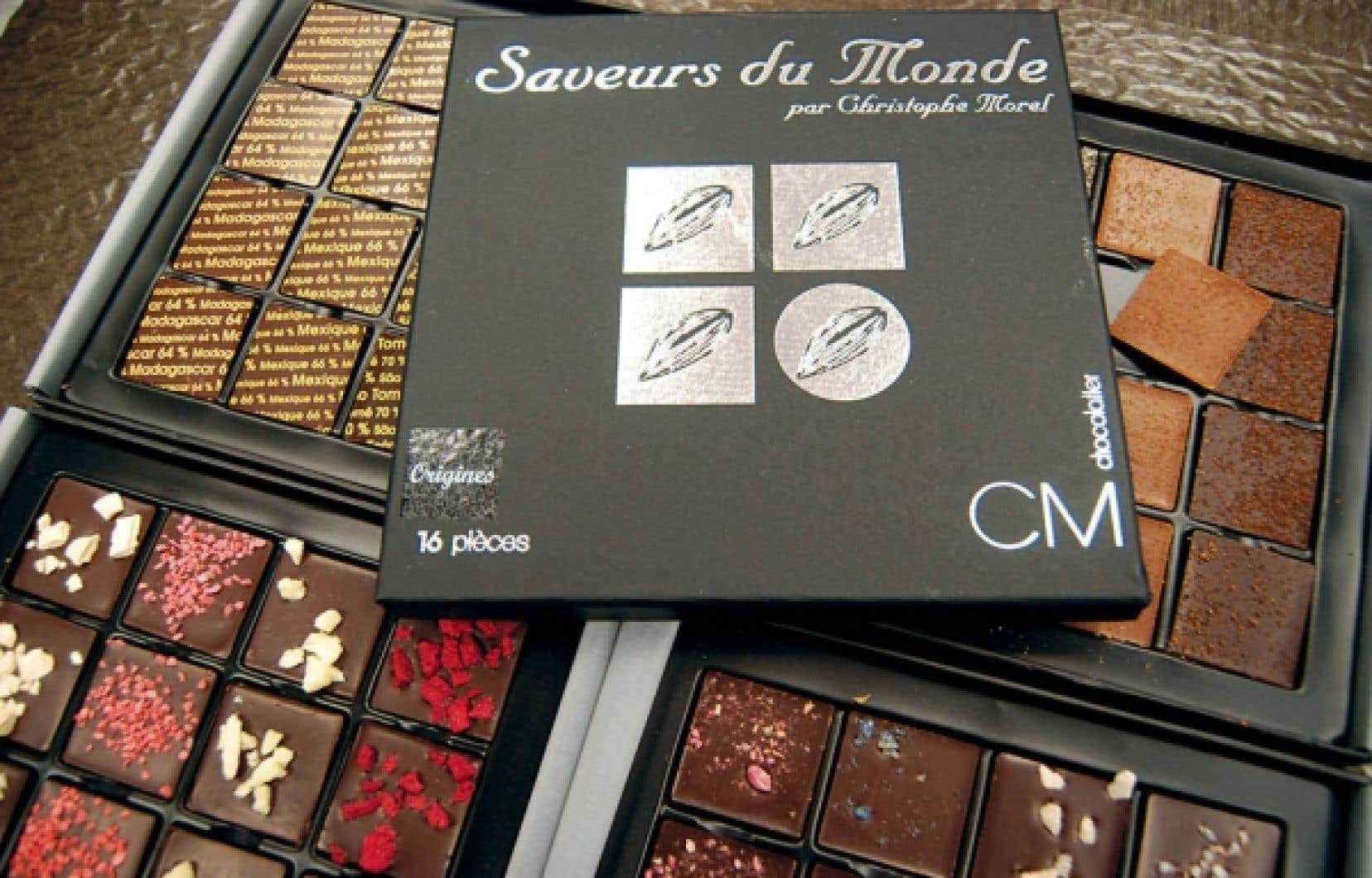 Les chocolats de Christophe Morel<br />