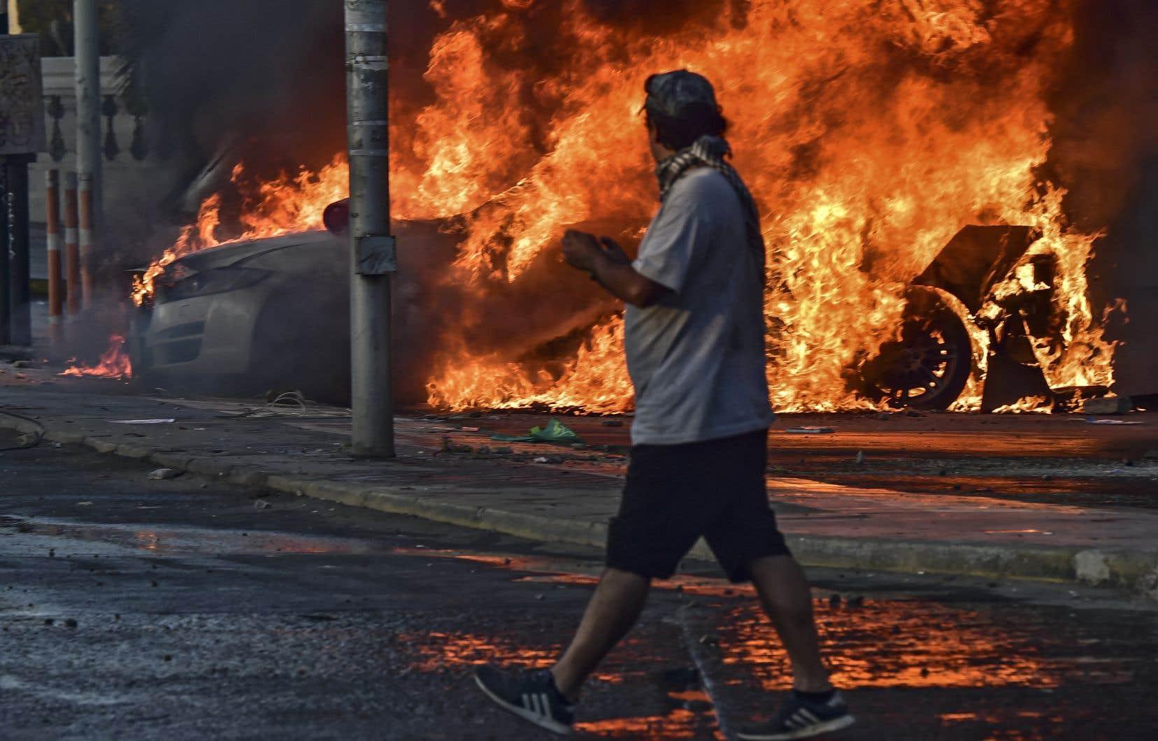 De nouveaux affrontements violents entre manifestants et forces de l'ordre ont eu lieu durant la fin de semaine dans la station balnéaire de Viña del Mar.