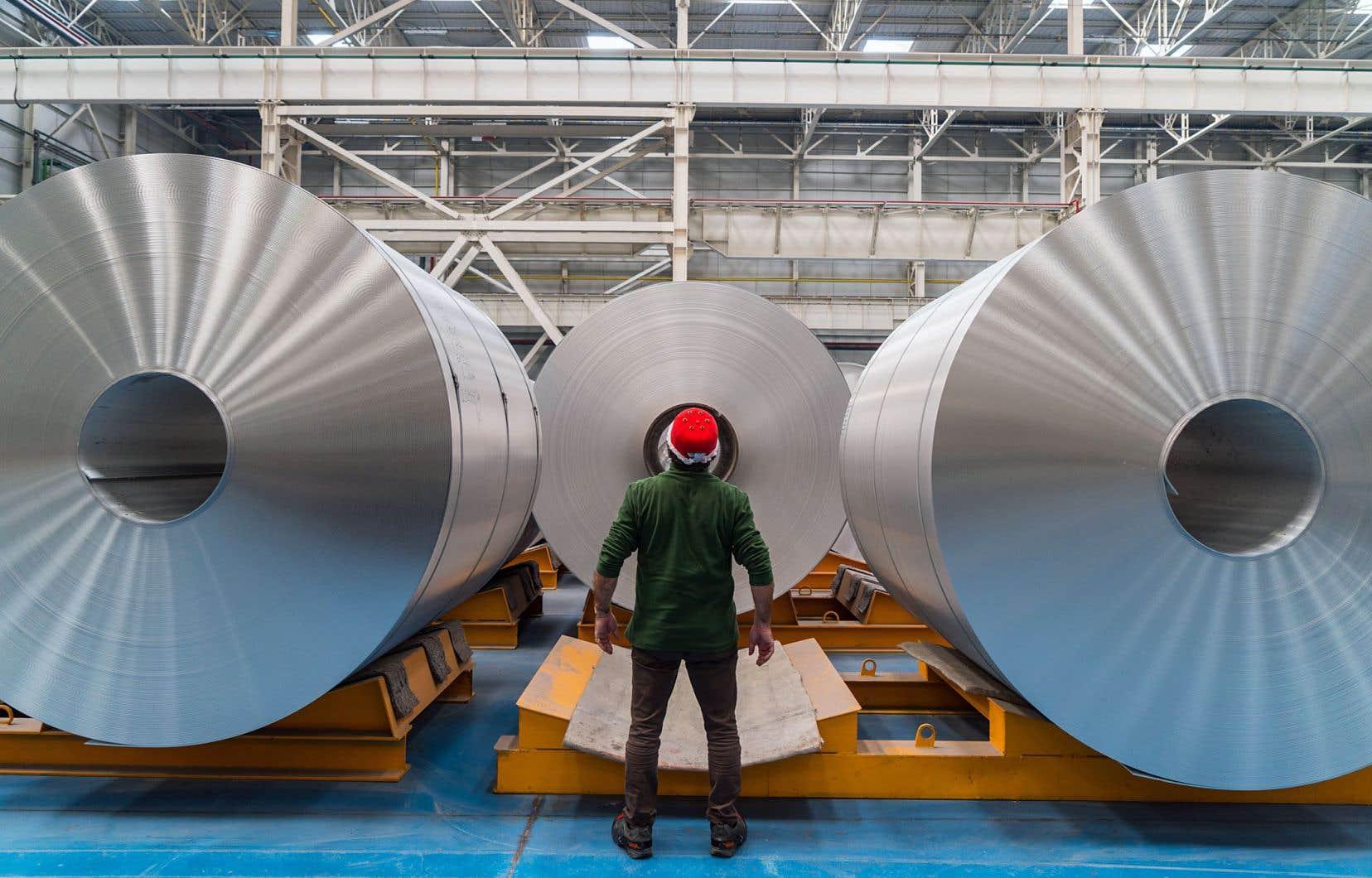En vertu de l'ACEUM, 70% de l'acier et de l'aluminium entrant dans la fabrication des automobiles doivent provenir de la zone de libre-échange.