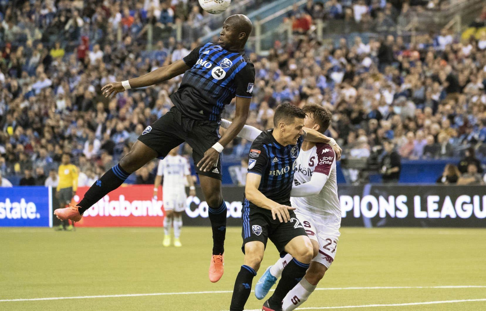 L'Impact de Montréal a su tenir le coup devant le Deportivo Saprissaqui a contrôlé le ballon et passé une grande partie du match en territoire adverse.