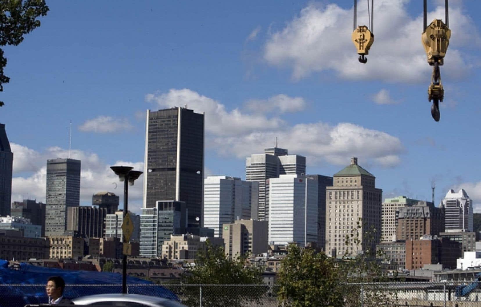 Construction à Montréal<br />