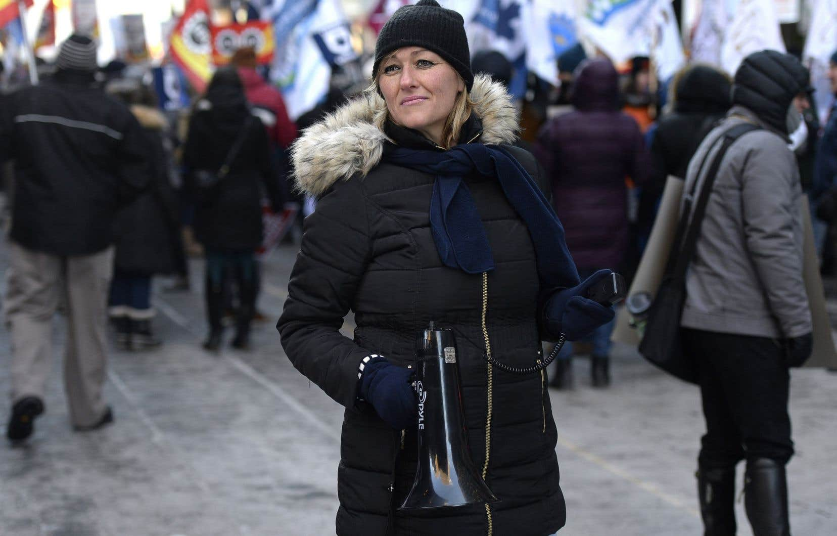 «Nos membres sont exaspérés. [...]Ce sera la grève générale illimitée si le gouvernement Trudeau ne change pas son mandat, s'il ne nous appelle pas à négocier et que, cette fois-ci, il démontre sa bonne foi», a prévenu Magali Picard, vice-présidente exécutive nationale à l'AFPC.