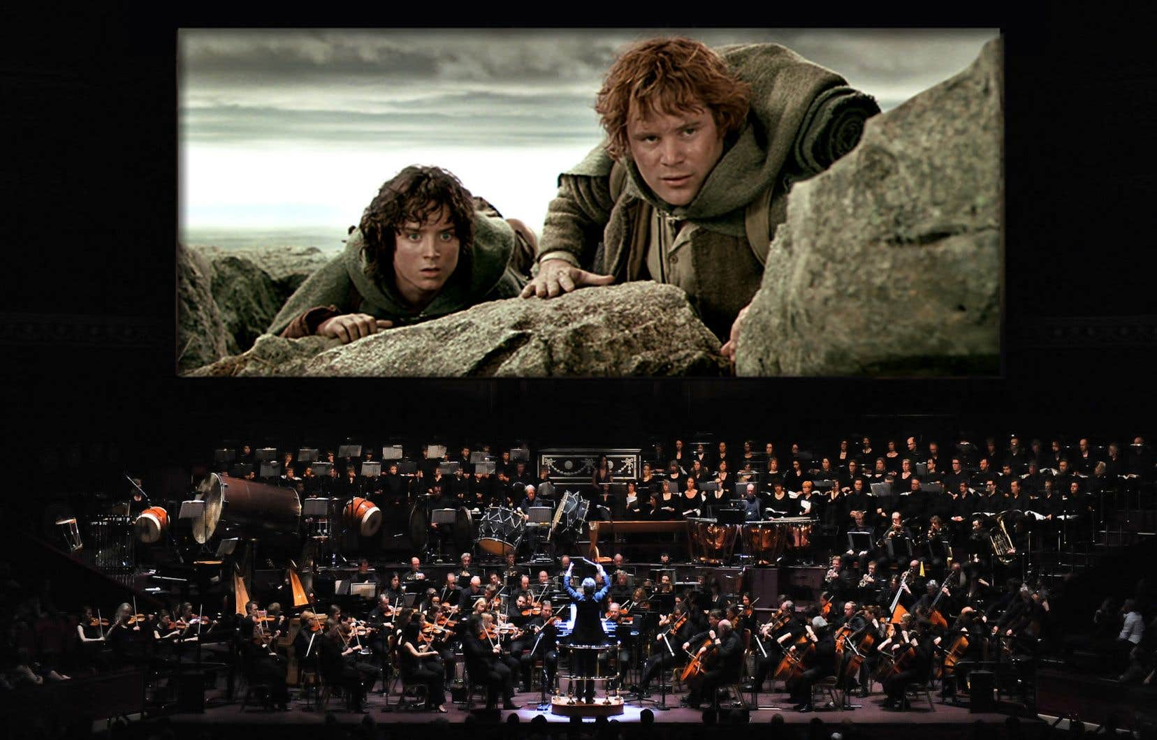 La présentation de films avec orchestre sur scène est une tendance lourde du marché du divertissement.