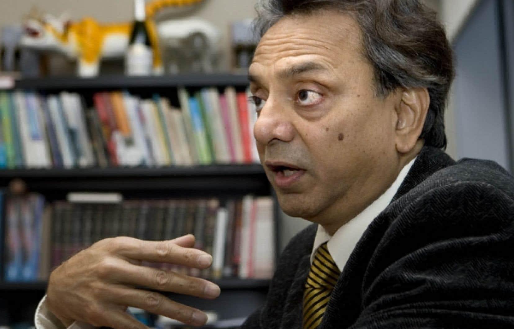 Le Dr Paul Shrivastava dirige le Centre d'études David O'Brien sur la durabilité des entreprises.<br />
