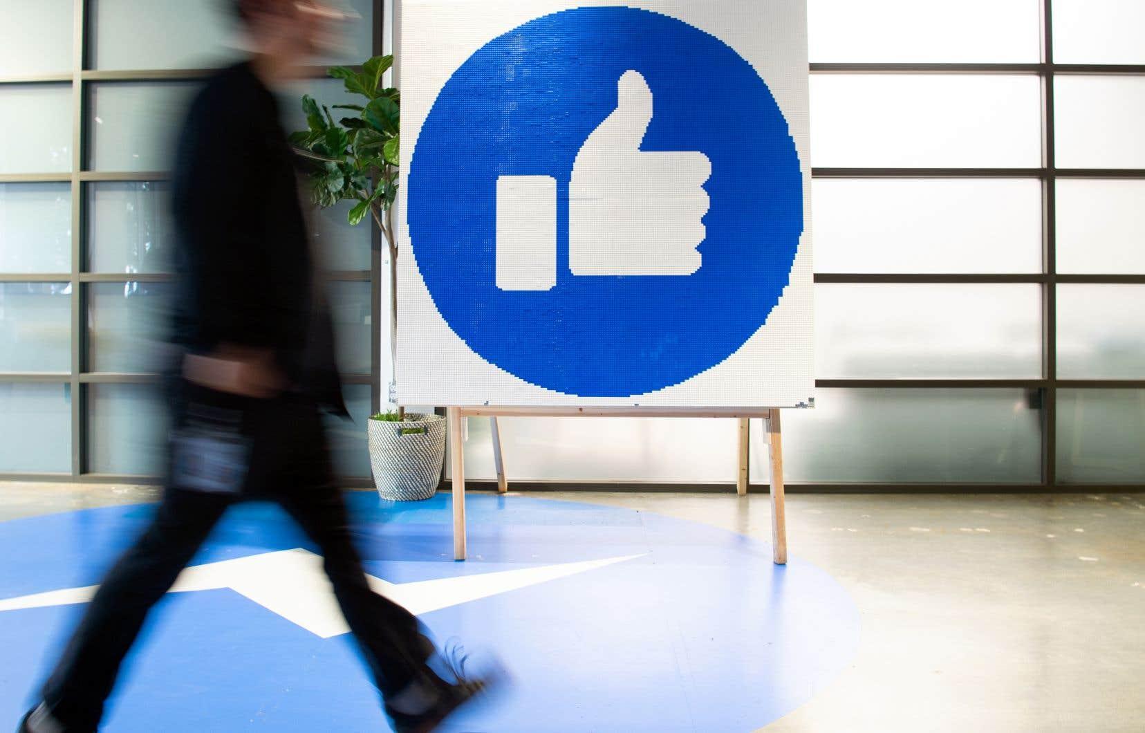 Seuls 41% des sondés disent faire suffisamment confiance à Facebook pour y entrer leurs informations.