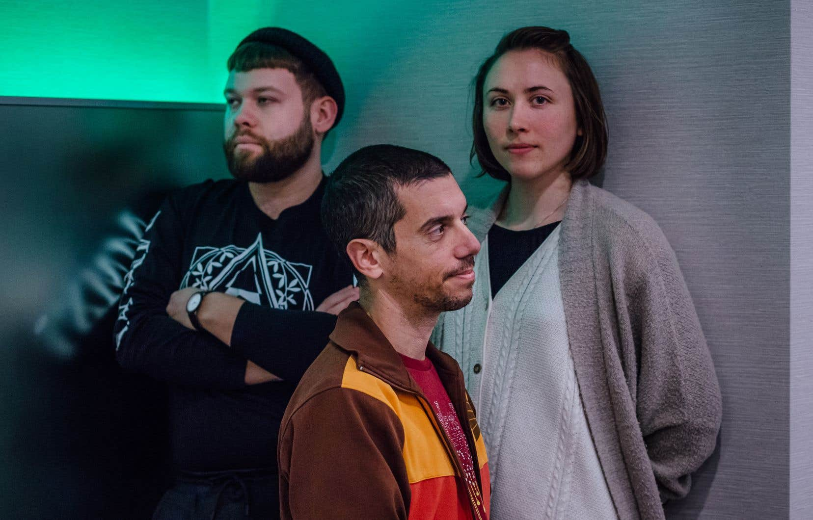 Niklas Nybom signe la musique de «Terres invisibles<i>»</i>, pièce écrite et mise en scène par Ishmael Falke et Sandrina Lindgren présentée dans le cadre du Festival de Casteliers.
