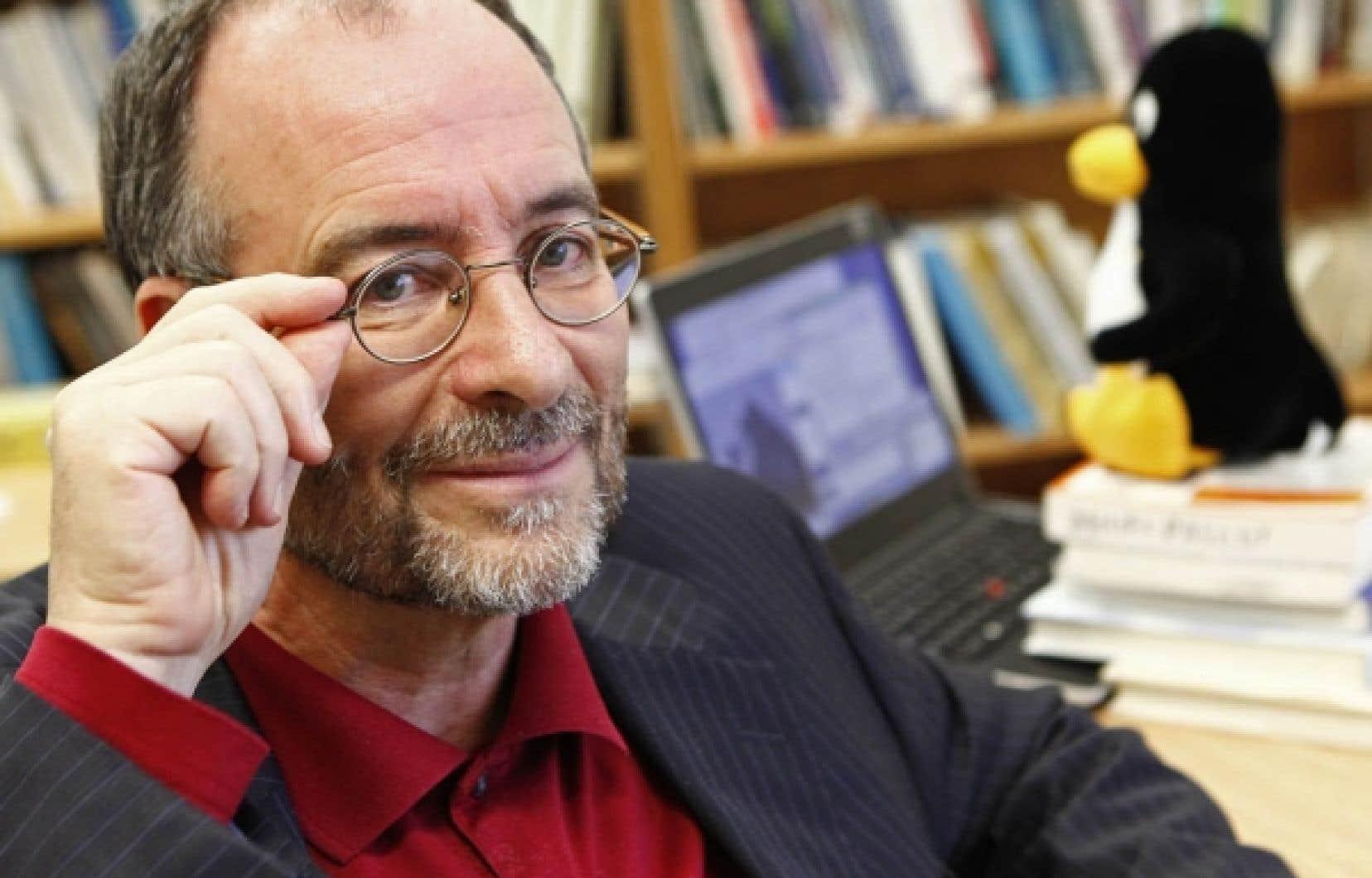 «Nous sommes à un moment charnière dans l'informatisation des services publics, dit Daniel Pascot, directeur du département des systèmes d'information à l'Université Laval<br />
