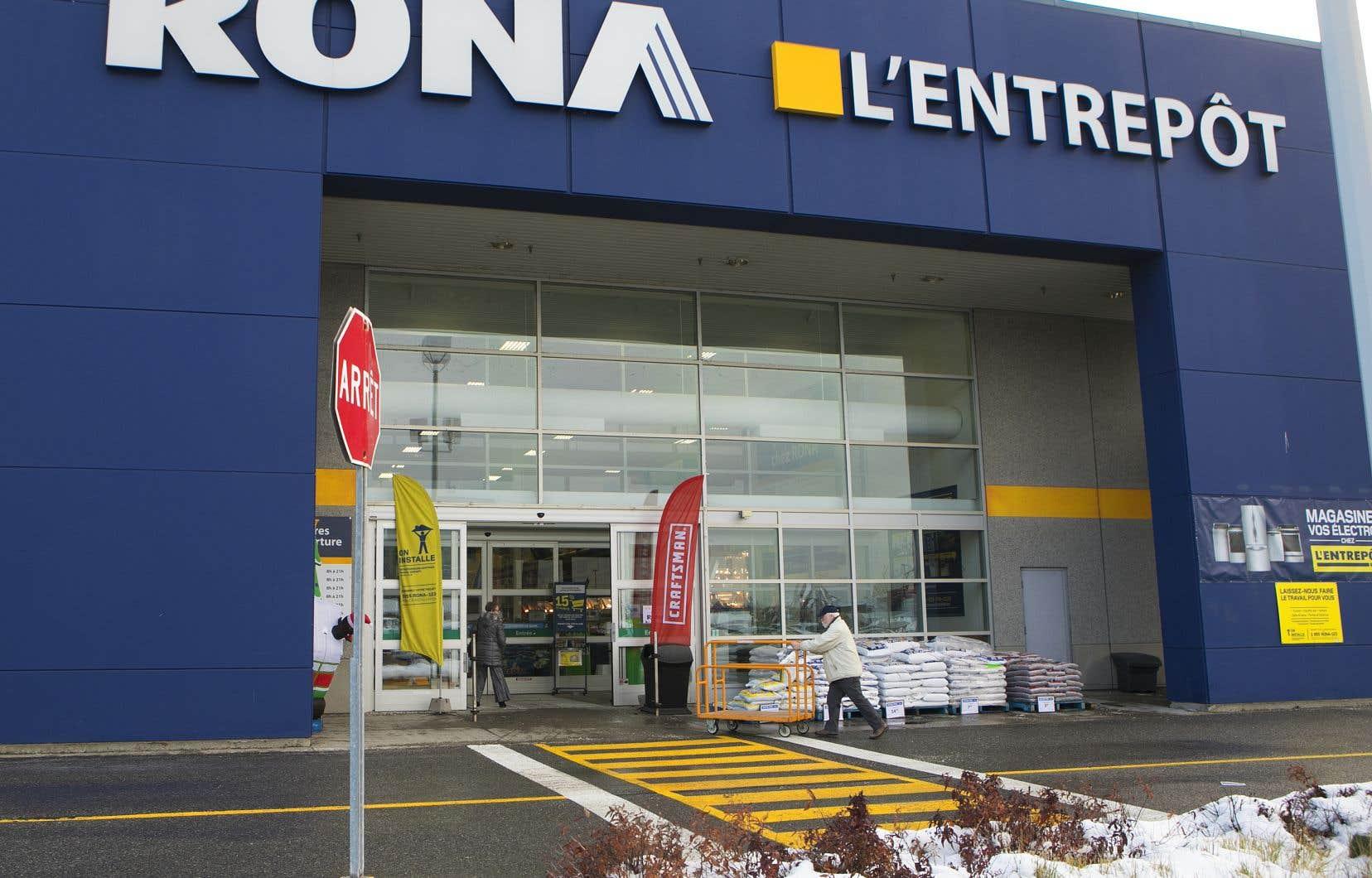 Lowe's a annoncé en novembre 2018 la fermeture de 27 magasins au Canada, dont 9 Rona au Québec.