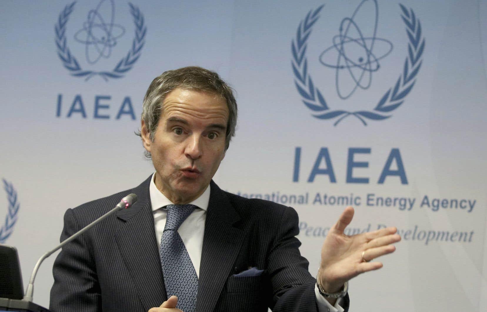 «Je tire la sonnette d'alarme», a déclaré le directeur général de l'Agence internationale de l'énergie atomique, Rafael Mariano Grossi.