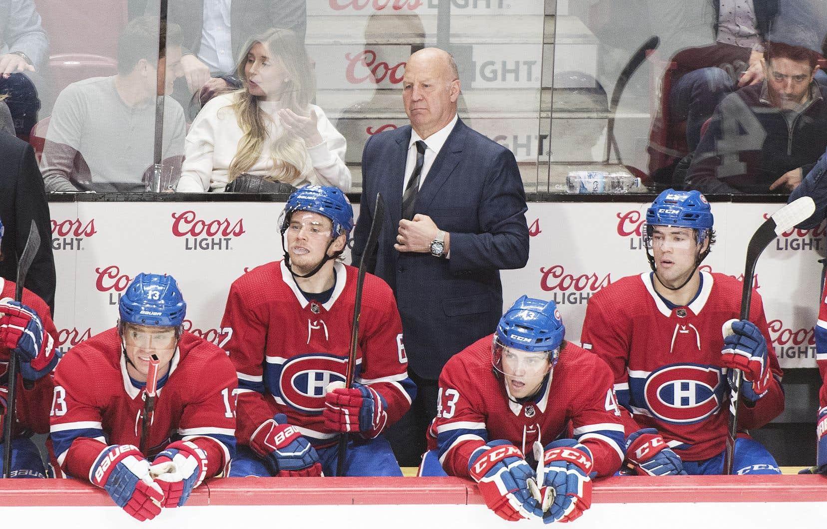 L'entraîneur du Canadien de Montréal, Claude Julien
