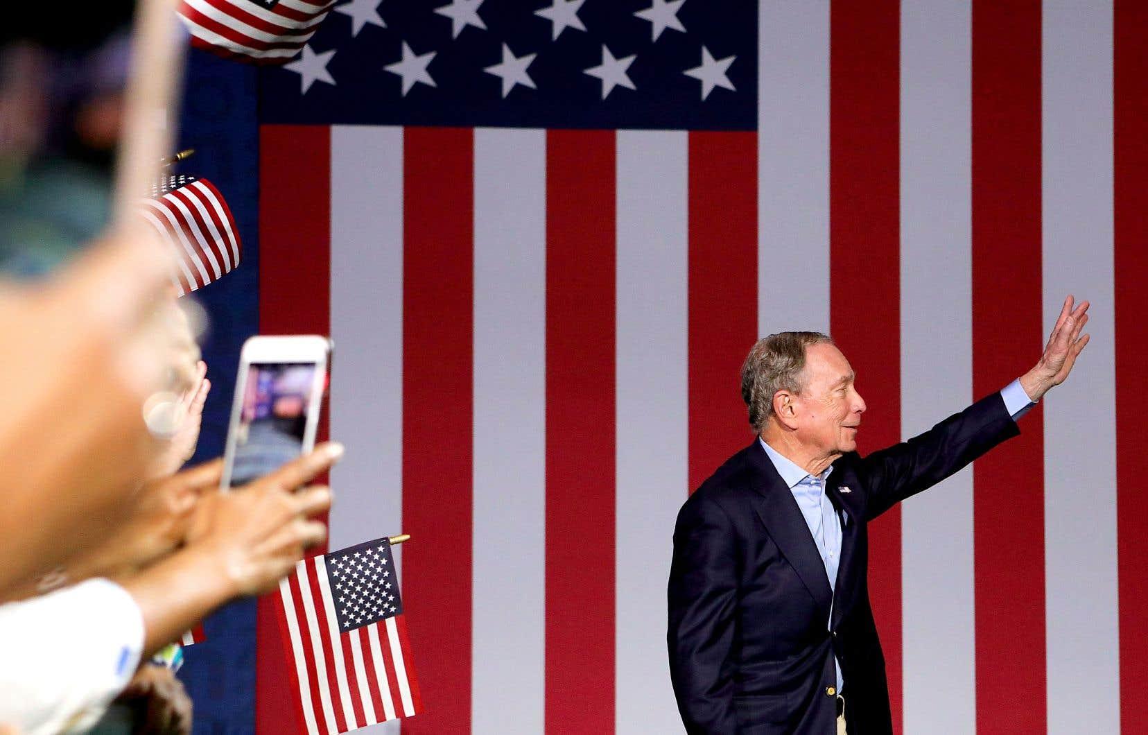 M.Bloomberg, ancien maire de New York, avait pourtant investi des sommes record dans sa campagne électorale.
