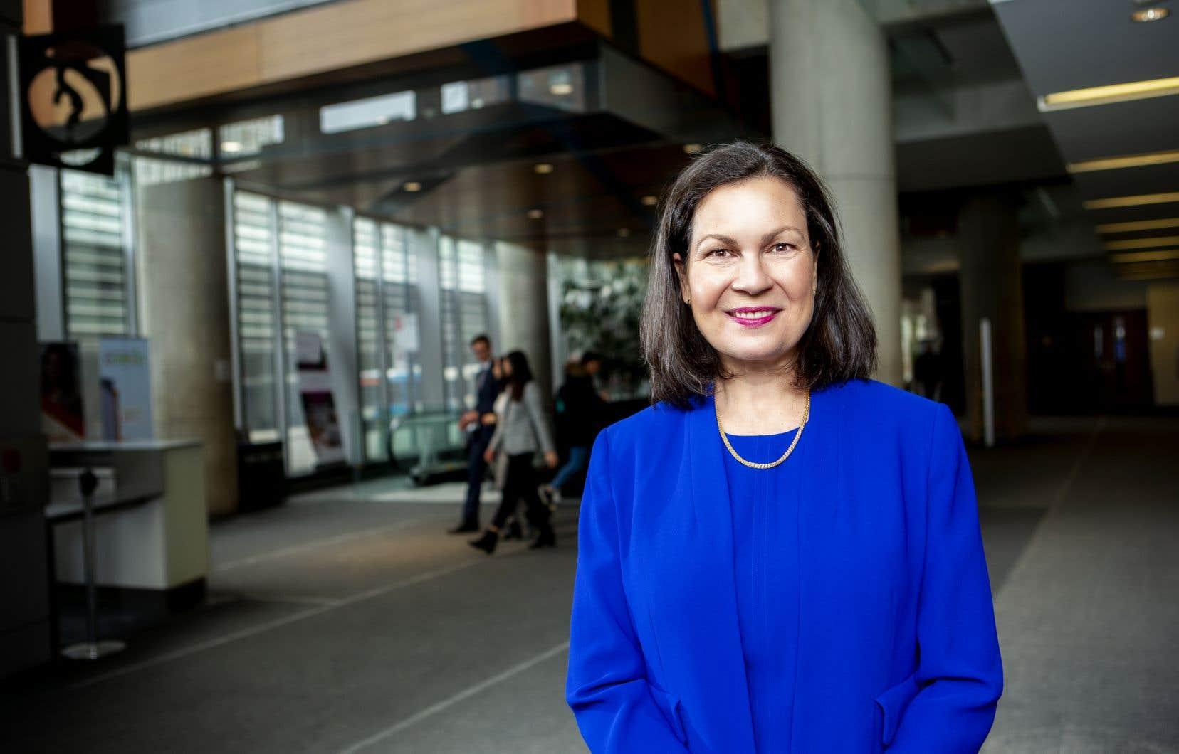 Anne-Marie Croteau est la première femme à diriger l'École de gestion John-Molson.