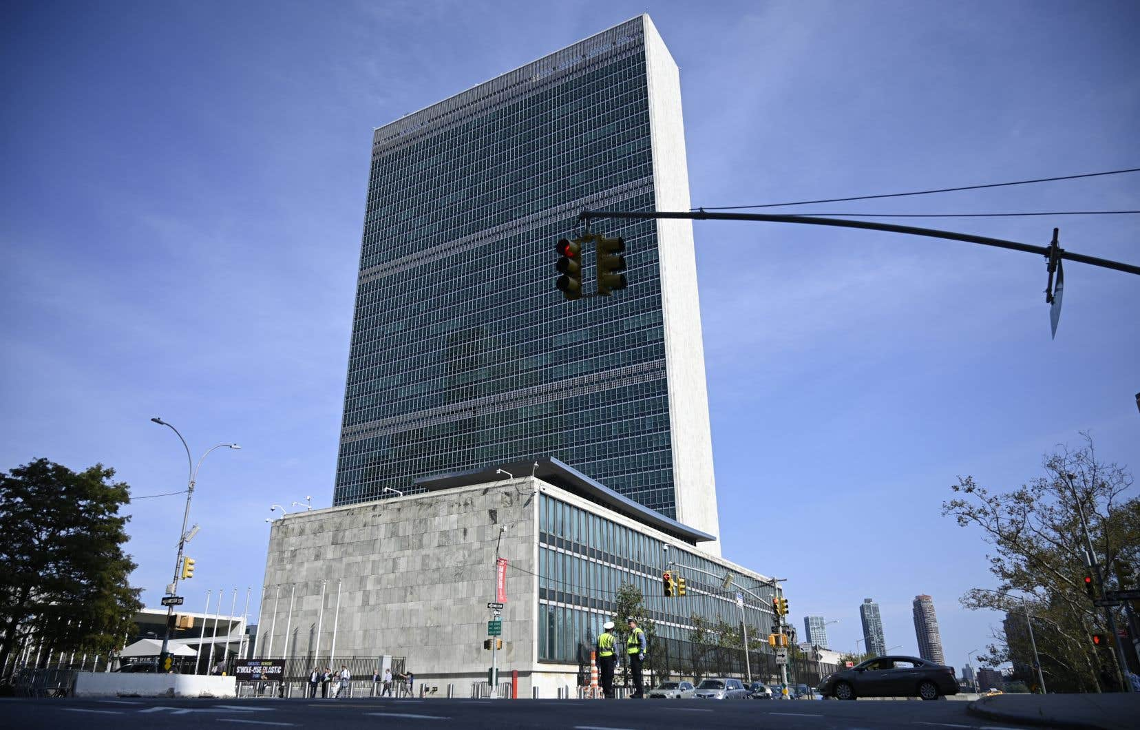 Le siège de l'Organisation des Nations unies, à Manhattan