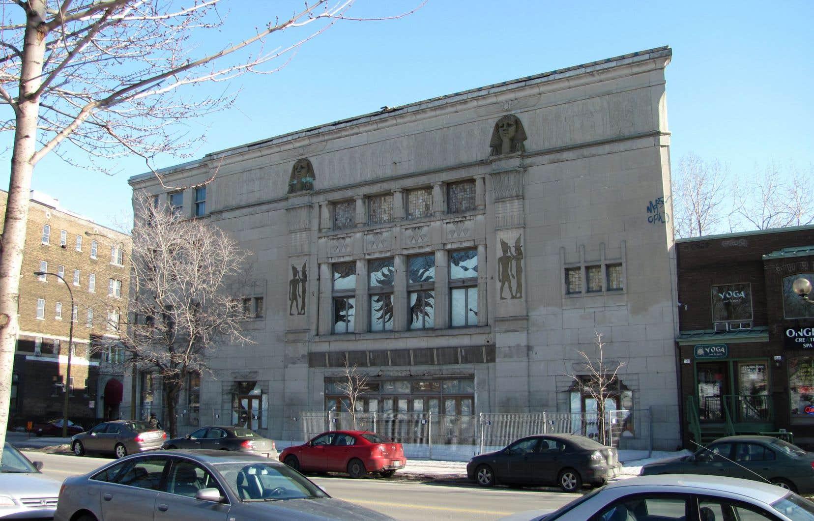 Une photo du théâtre Empress prise en 2012. L'édifice est inoccupé depuis 28 ans.