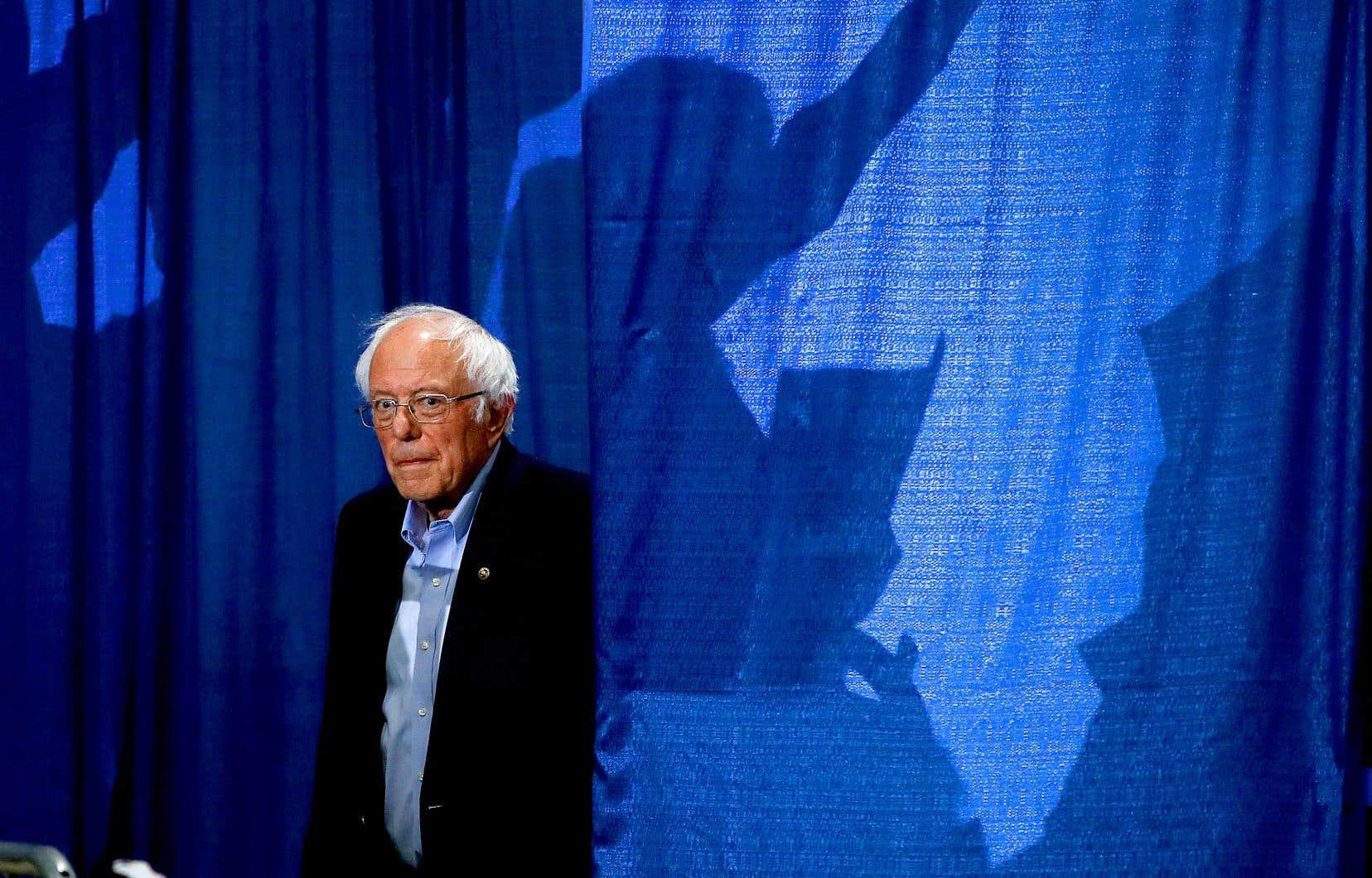 Après un départ fulgurant, le sénateur du Vermont, Bernie Sanders, est à la traîne désormais dans les sondages face à son principal opposant, l'ancien vice-président Joe Biden.
