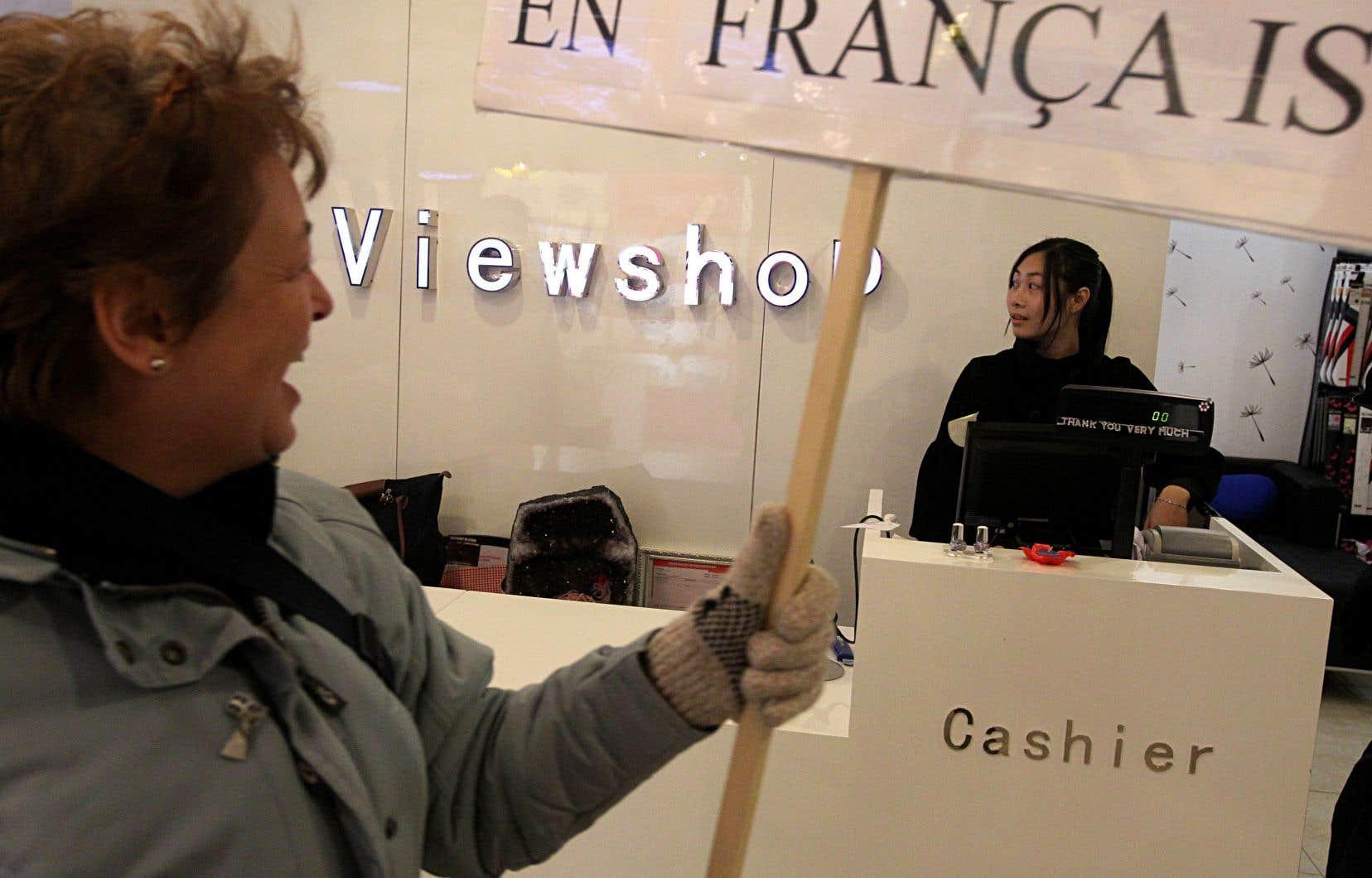 «Une société francophone calquée sur les sociétés anglo-saxonnes qui nous entourent ne me paraît pas être une victoire pour le français», insiste l'autrice.