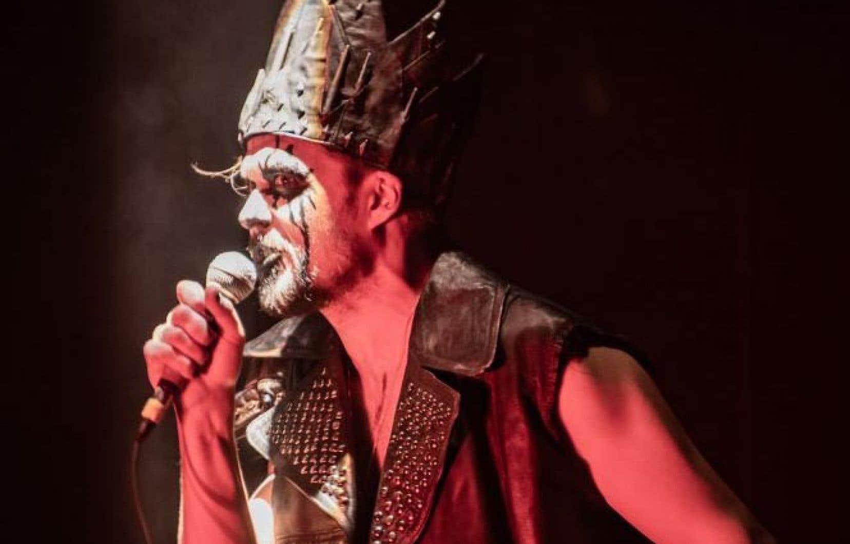 Guillaume Perreault, qui incarne Macbeth, fait partie du trio au cœur de l'œuvre.