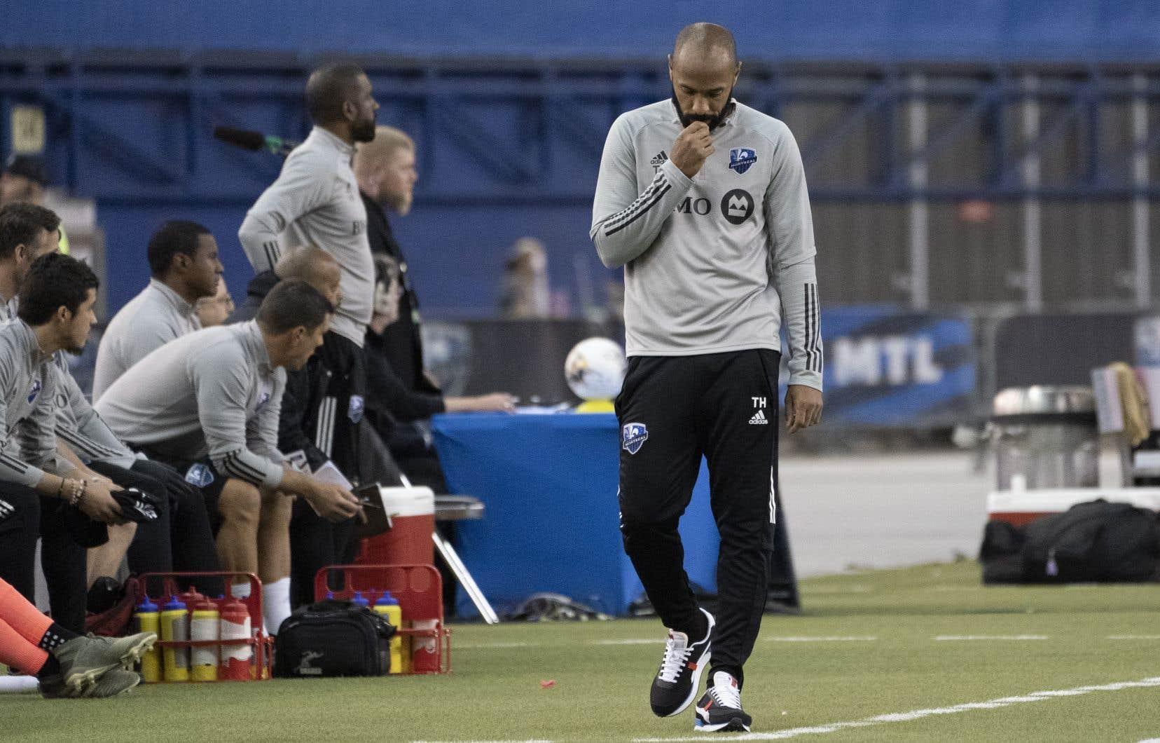 L'entraîneur-chef de l'Impact, Thierry Henry