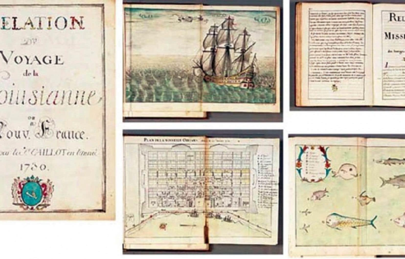 Relation du voyage de la Louisiane ou Nouvelle-France, un manuscrit de 168 pages, décrit dans le catalogue de Christie's comme un «ouvrage remarquable de première main, jamais publié», orné de nombreuses gravues, a bel et bien appartenu aux Archives nationales.