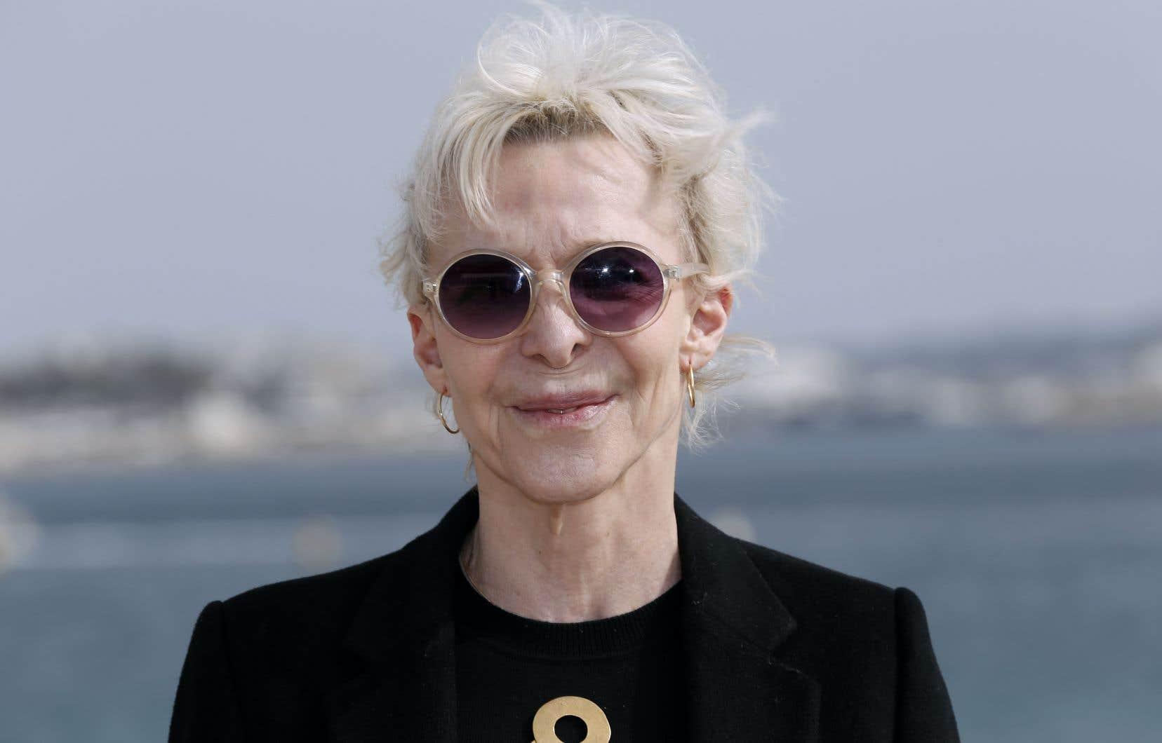 La cinéaste, scénariste et actrice franco-américaine Tonie Marshall en avril 2016