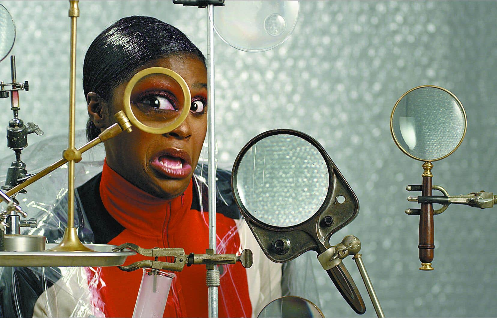Image tirée du clip «Whack World» de la chanteuse Tierra Whack Réalisation par Thibaut Duverneix