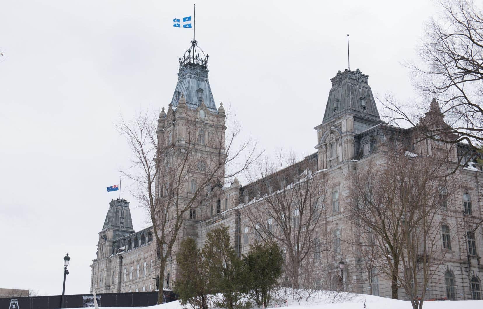 Les travaux de l'Assemblée nationale seront suspendus jusqu'au 21avril en raison de la pandémie causée par le coronavirus.