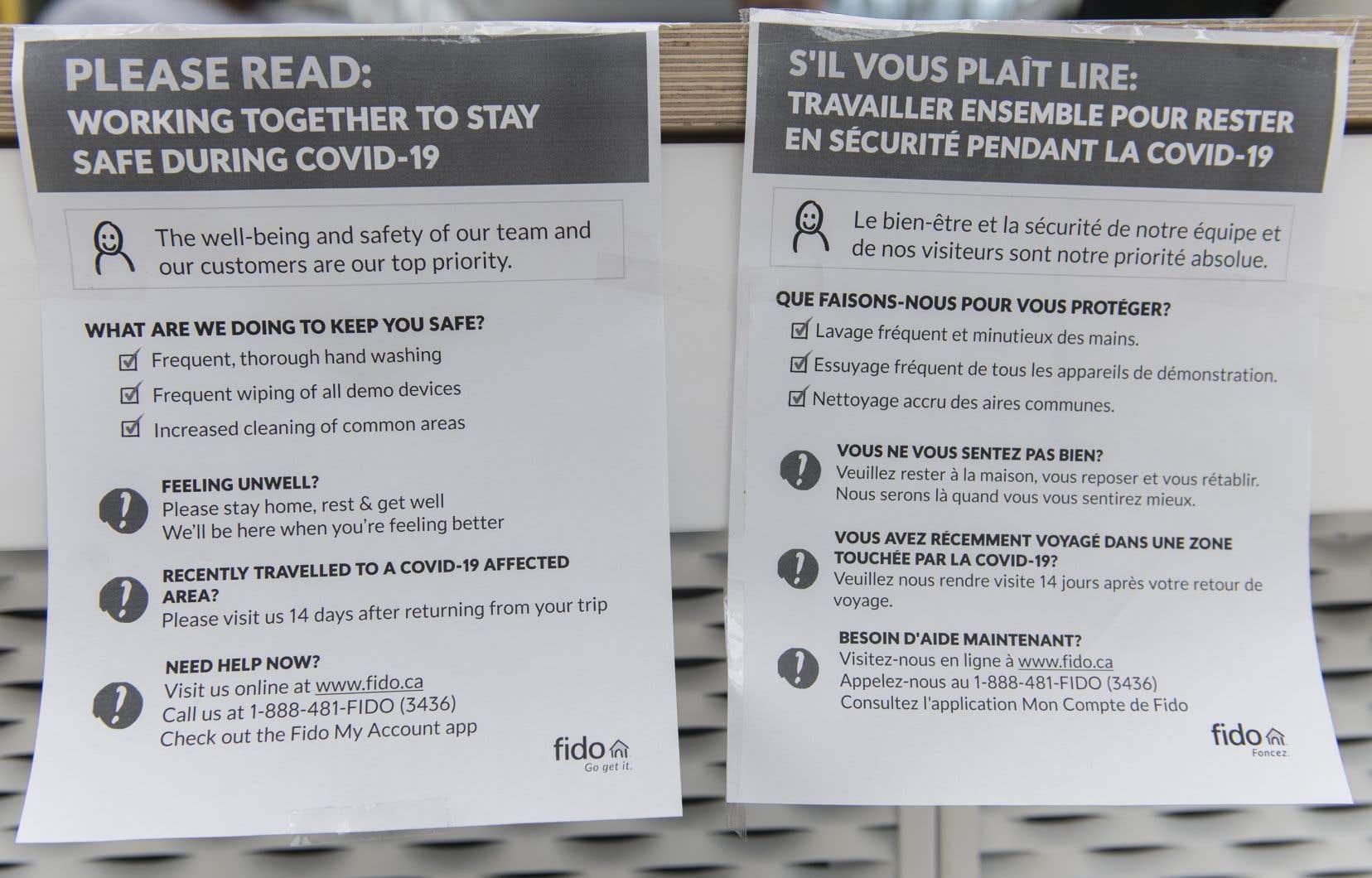 Lundi, 14 cliniques désignées spécifiquement pour le dépistage de la COVID-19 étaient ouvertes au Québec.