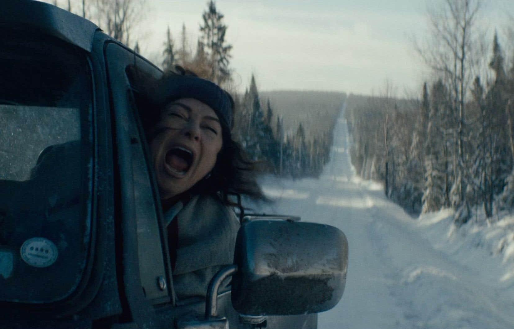 Martine Francke interprète une femme en fuite dans le court métrage «Je finirai en prison», du réalisateur québécois Alexandre Dostie. Le film a été présenté au festival Sundance.