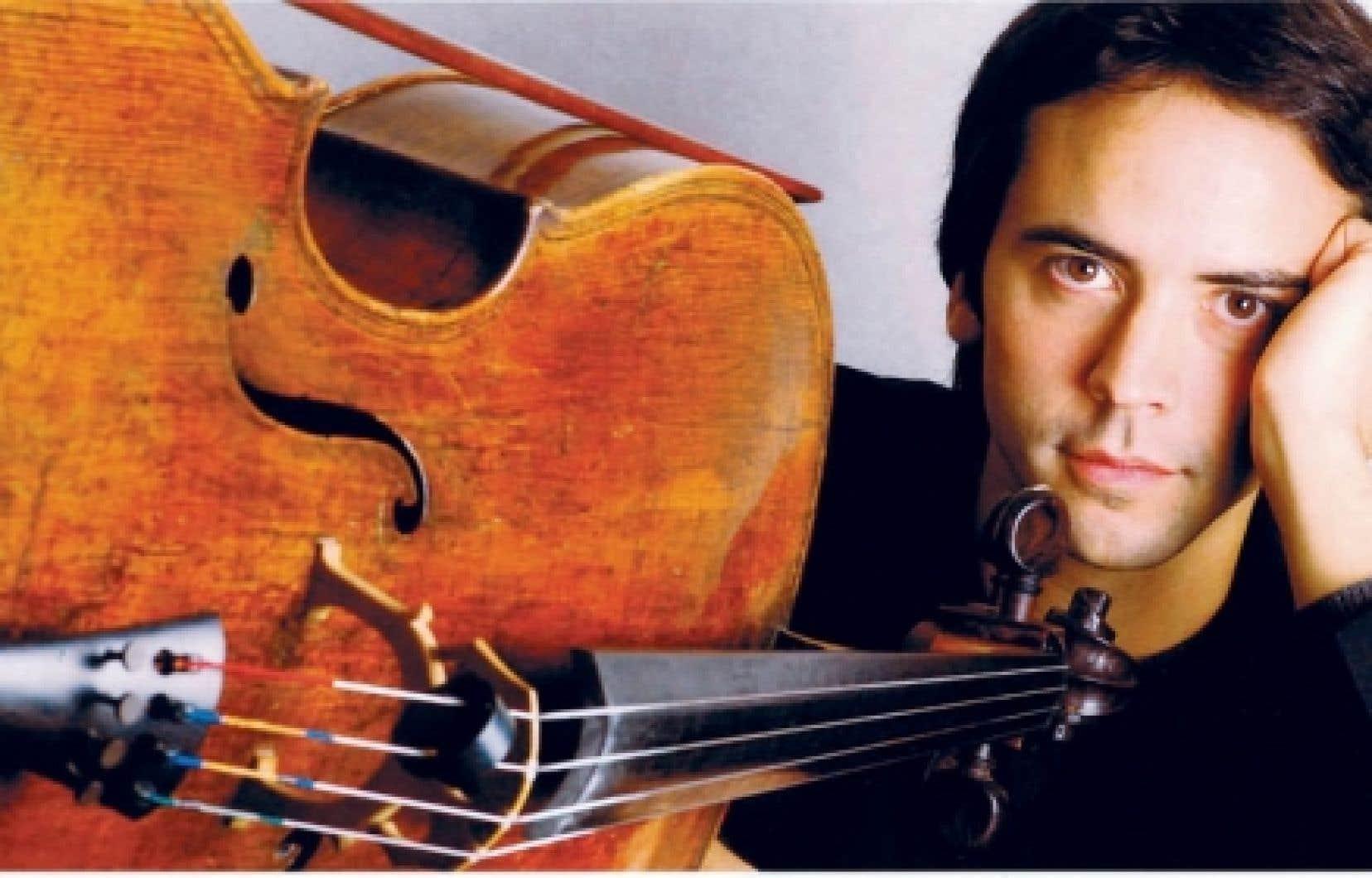 Le violoncelliste Jean-Guihen Queyras est né à Montréal en 1967.<br />