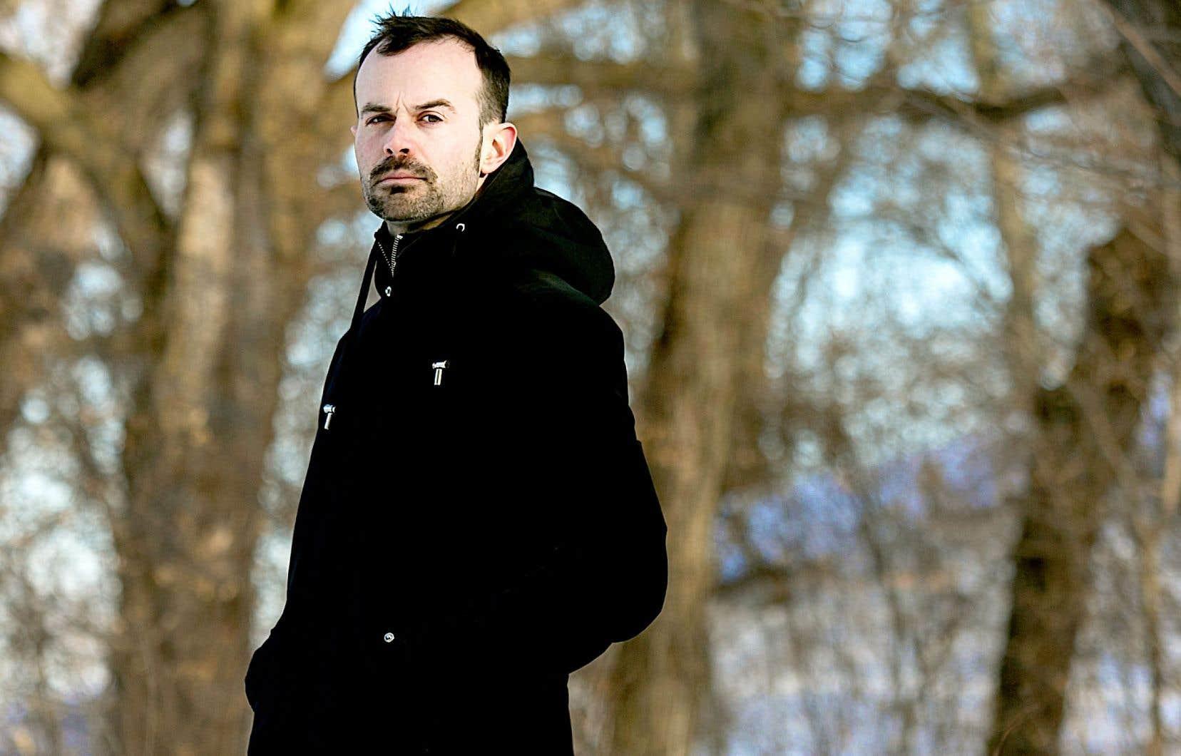 Alexandre Michaud pour son premier roman «Francis»