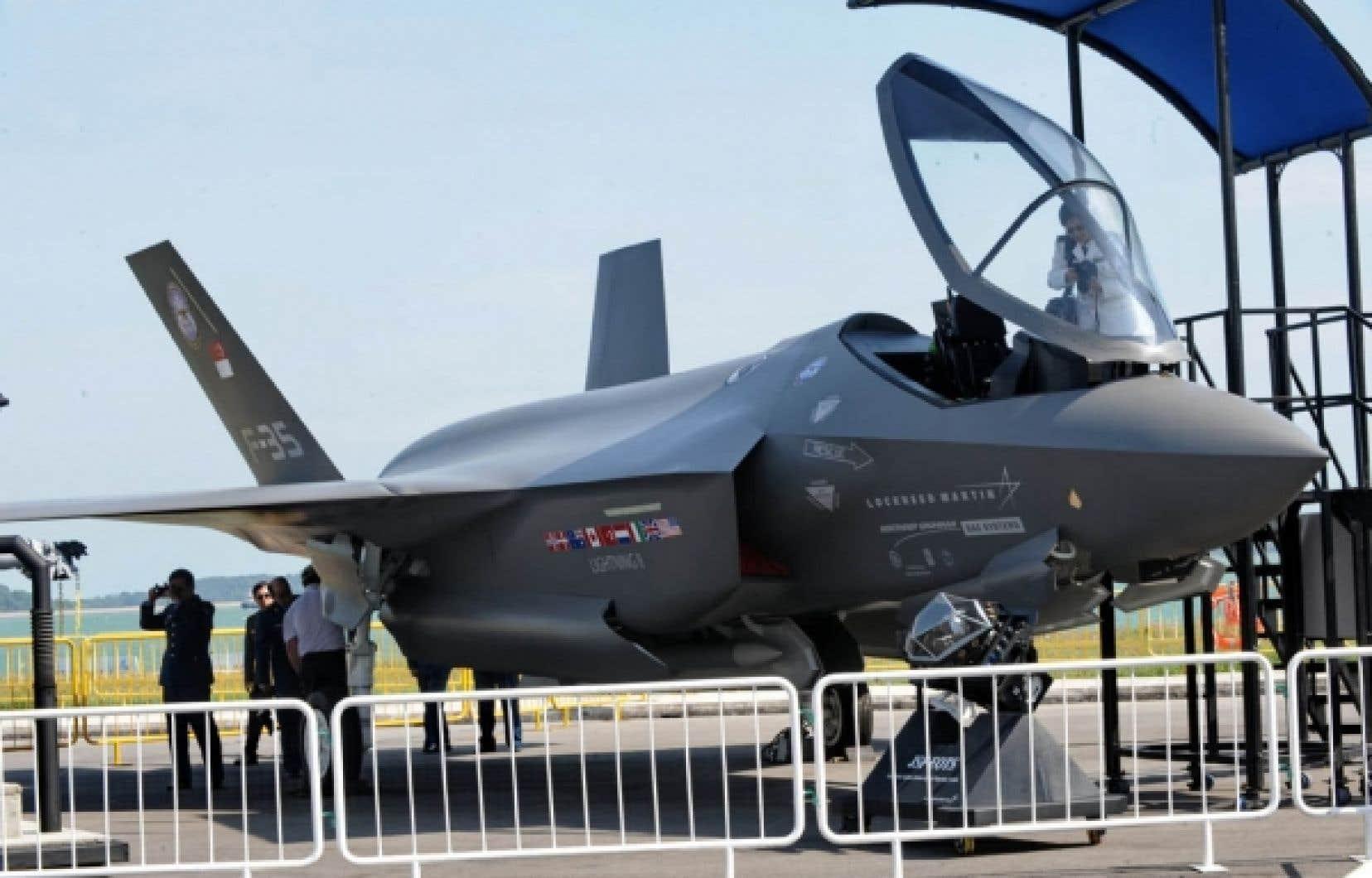 Pour l&rsquo;heure, le Canada pr&eacute;voit payer entre 70 et 75 millions $US pour chaque avion F-35.<br />