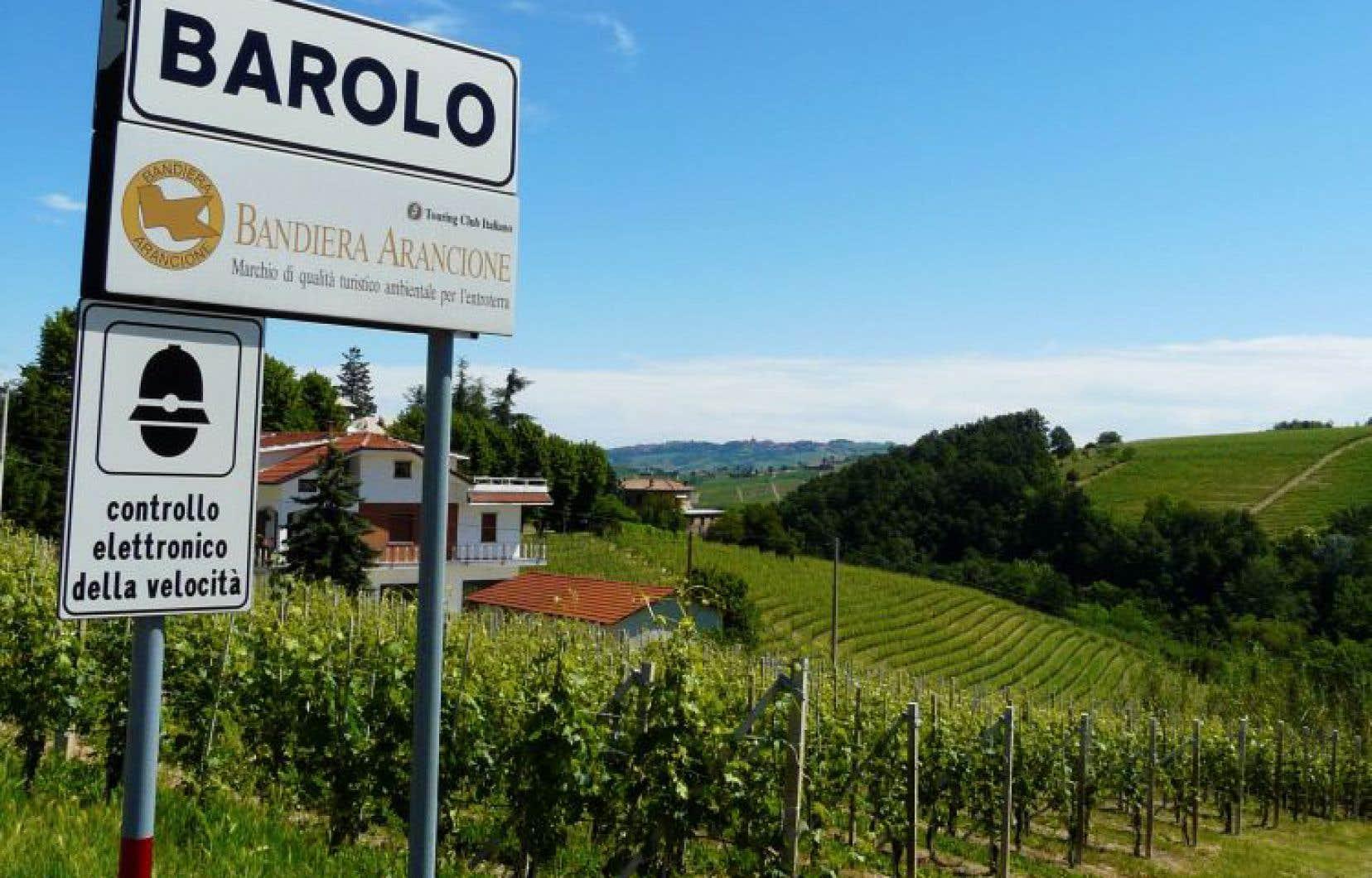 Barolo: Pavarotti joue ici les grandes orgues.