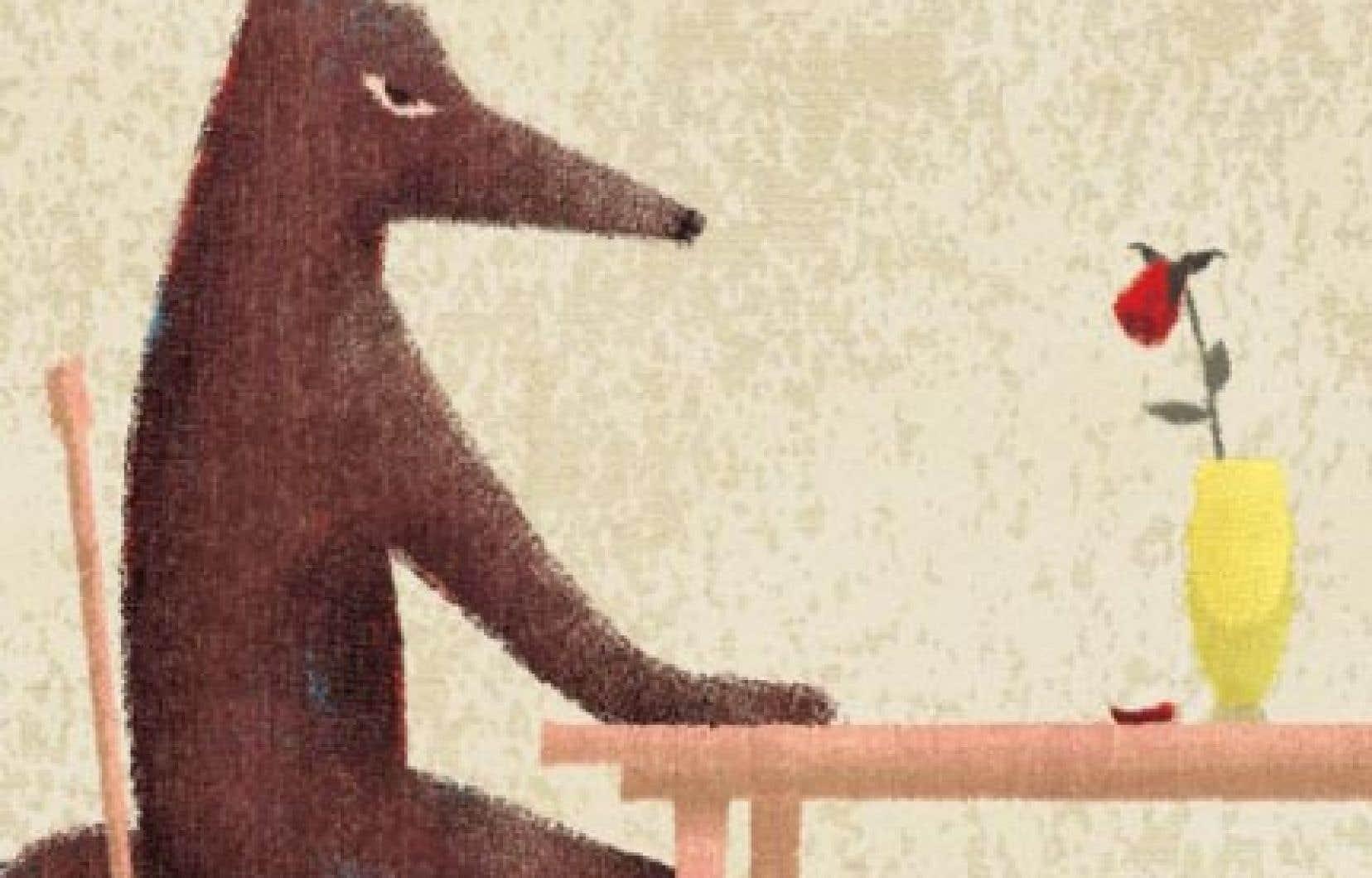 Dans un album aux allures de conte, Valérie Fontaine et Nathalie Dion abordent le thème de la violence familiale.