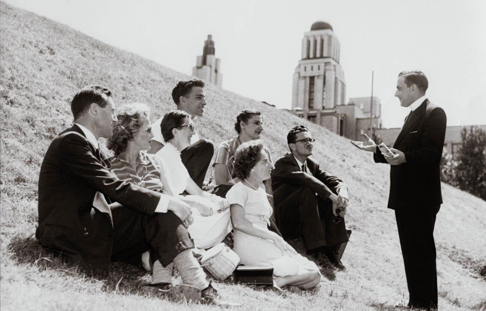 image tirée du film «Une tour sur la montagne. L'architecture d'Ernest Cormier et sa vie avec Clorinthe Perron».