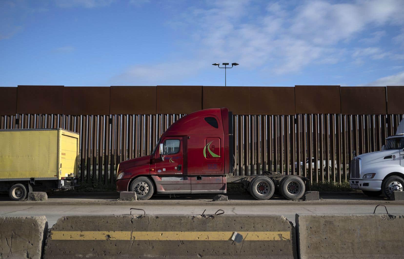 Le secrétaire américain à la Sécurité intérieure, Chad Wolf, a précisé que cette fermeture ne concernait pas le «commerce légal».