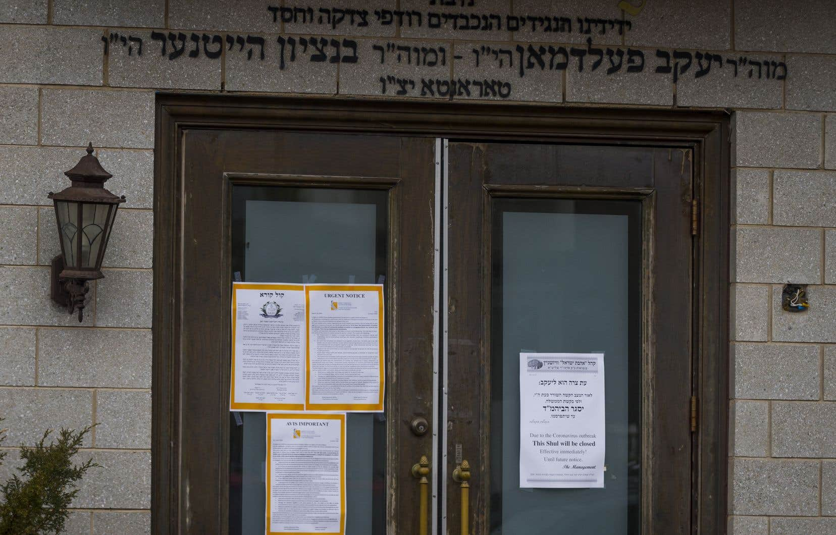 Le Conseil des hassidiques juifs du Québec a ordonné la fermeture de toutes les synagogues pour la première fois de son histoire.